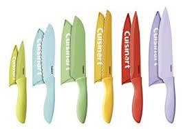 cuisinart kitchen knives amazon com cuisinart c55 12pcer1 12 ceramic coated color
