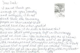 thank you note after interview sample handwritten cover letter