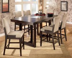 Chair Round Bar Height Table And Chairs Dining W Bar Height Dining - Bar height dining table with 8 chairs