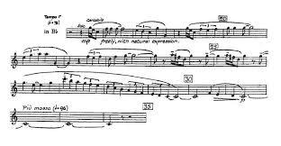 an outdoor overture trumpet excerpts