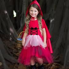 Red Riding Hood Halloween Costume Kids Girls Red Riding Hood Halloween Costume Mia Belle Baby