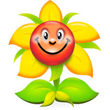 Smiley Flowers - smiley face flower clipart clip art library