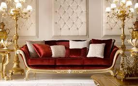 mobili per la zona giorno classica e di lusso in stile veneziano e