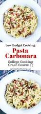 low budget cooking pasta carbonara recipe jeanette u0027s healthy living