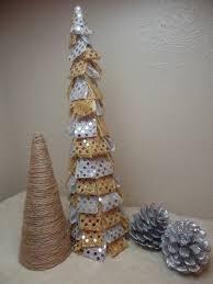diy cone shaped christmas trees home design