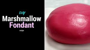 how to make marshmallow fondant diy marshmallow fondant