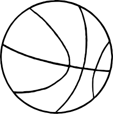 thin basketball ball coloring page wecoloringpage