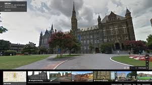 Maps Google Com Washington Dc by Google Lat Long Take A College Road Trip With Street View