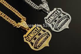 hip hop necklace charms images Hip hop gangsta ok letter necklace mens bling bling hip hop chains jpg