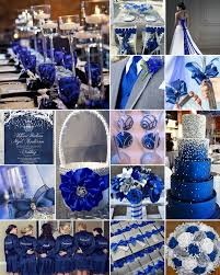 blue and silver wedding royal blue for a royal wedding nothing quite makes a splash