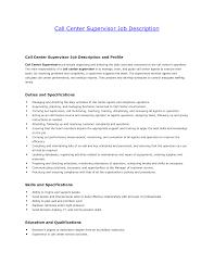 Resume Of Call Center Agent Call Center Customer Service Job Description Resume Bongdaao Com