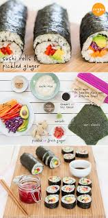 Winter Garden Sushi We Show You How To Make Simple Sushi Rolls And Homemade Pickled