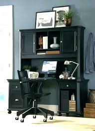 Black Home Office Furniture Black Home Office Desk Small Home Office Decoration With