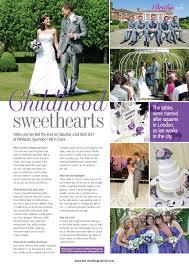 wedding planner magazine real wedding feature in wedding planner magazine featuring