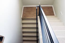How To Install A Stair Banister All The Details On Our New Horizontal Stair Railing Chris Loves