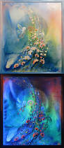 46 best luminescent paintings by laija art images on pinterest