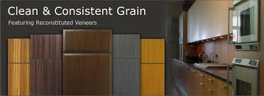 Contemporary Slab Cabinet Doors WalzCraft - Slab kitchen cabinet doors