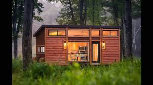 the escape traveler is a cozy 269 square feet tiny house youtube