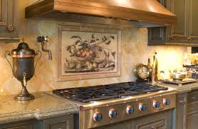 tuscan kitchen backsplash impressive image of tuscan kitchen backsplash tile murals kitchen