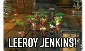 Leeroy Jenkins Meme - the leeroy jenkins meme is actually completely fake and we all