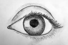 eye drawing it s me