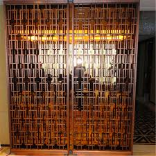 china factory metal room divider screen partition to dubai