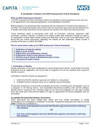 a candidates guide to the nhs employment check standards v8 feb 13