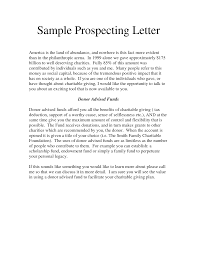 11 best images of prospecting letter examples sales prospecting