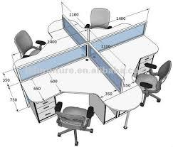 Standard Desk Size Office Oficinas Con Cubiculos Buscar Con Google Sala De Juntas