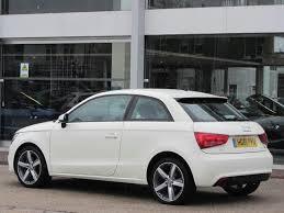 used audi a1 2011 diesel 1 6 tdi se 3dr hatchback white with