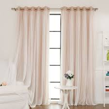 Light Pink Blackout Curtains Light Pink Sheer Curtain Panels Curtain Gallery Images