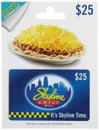 chili gift card skyline chili gift card 25 gift card alley