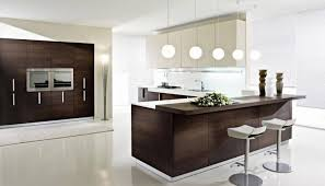 White Stained Wood Kitchen Cabinets Kitchen Floor Tile White Cabinets Yellow Granite Countertop Open