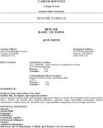 Chronological Order Resume Example Resume Education Section Order
