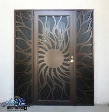 best 25 wrought iron security doors ideas on wrought