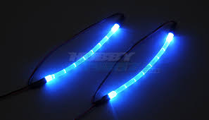 Automotive Led Light Strips Hobbypartz Blue Underbody Lighting Strip Kit For Rc Cars