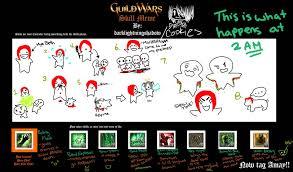 Guild Wars 2 Meme - guild wars skills meme ft mya by bloody violet on deviantart