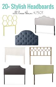 Headboards Remodelaholic 20 Stylish Headboards Under 150