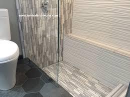 bathroom enchanting bathroom design with cozy bathtub and daltile