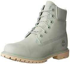womens green boots uk timberland womens 6 inch premium boots in silt green amazon co uk