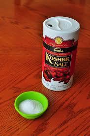 ratio kosher salt to table salt salt by weight dadcooksdinner