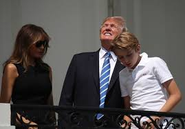 Can You Go Blind By Looking At The Sun Stares At The Sun During The Eclipse Will It Harm His Eyes