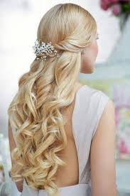 cool hairstyle 2014 curly hairstyles half up half down back view