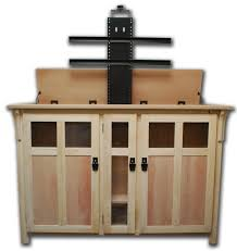 Bedroom Furniture Tv Lift Pop Up Tv Cabinets For Flat Screens Best Home Furniture Decoration
