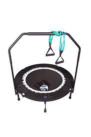 amazon com maximus pro quarter folding mini trampoline includes
