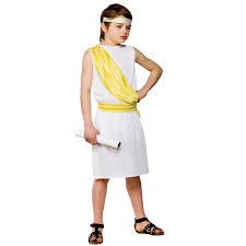 roman halloween costumes greek toga kids boys ancient greek boy costume enrichment 3 5