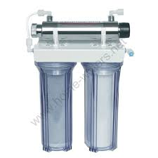 uv light water treatment 10 inch wall mounted water filter with uv light double wall mounted