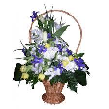 basket arrangements flowers arrangement in a basket event flowers ny