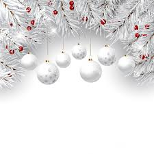Christmas Decorations With Pine Tree Branches by Decorative Christmas Background With Pine Tree Branches And
