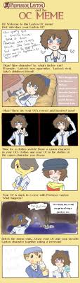 Professor Layton Meme - professor layton oc meme sumika by quite lovely puzzles on deviantart